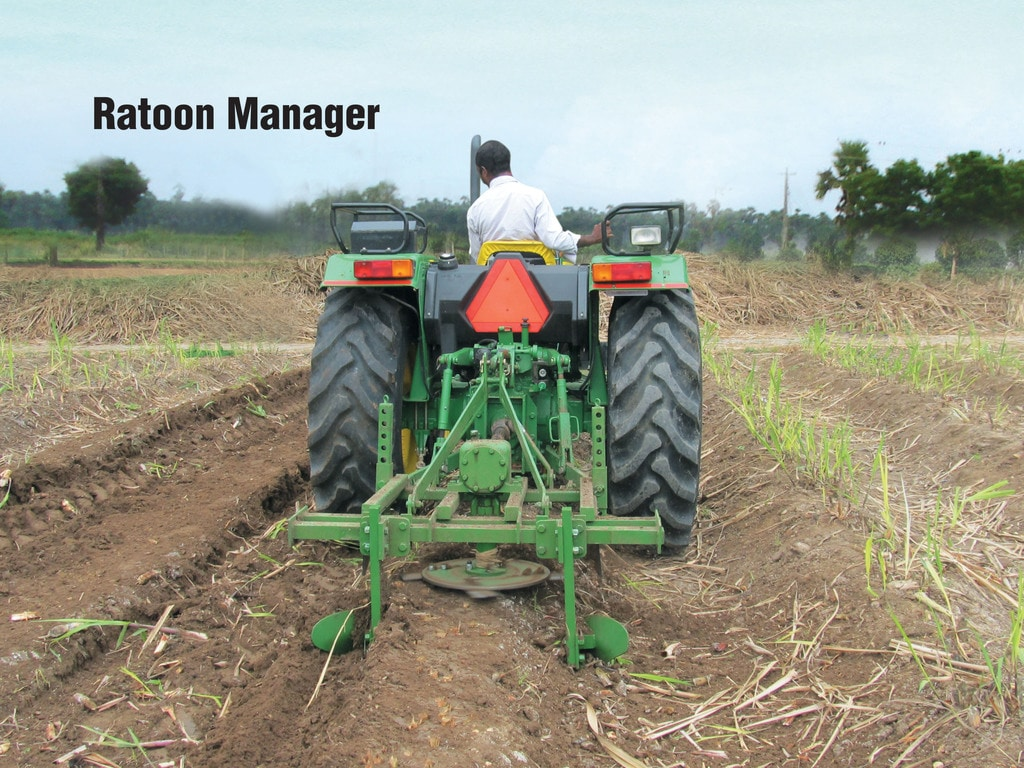 John Deere Ratoon Manager in field