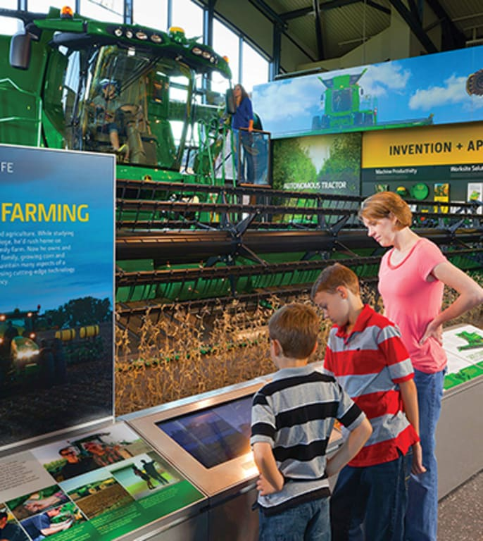 Click here to learn more about the John Deere Pavilion