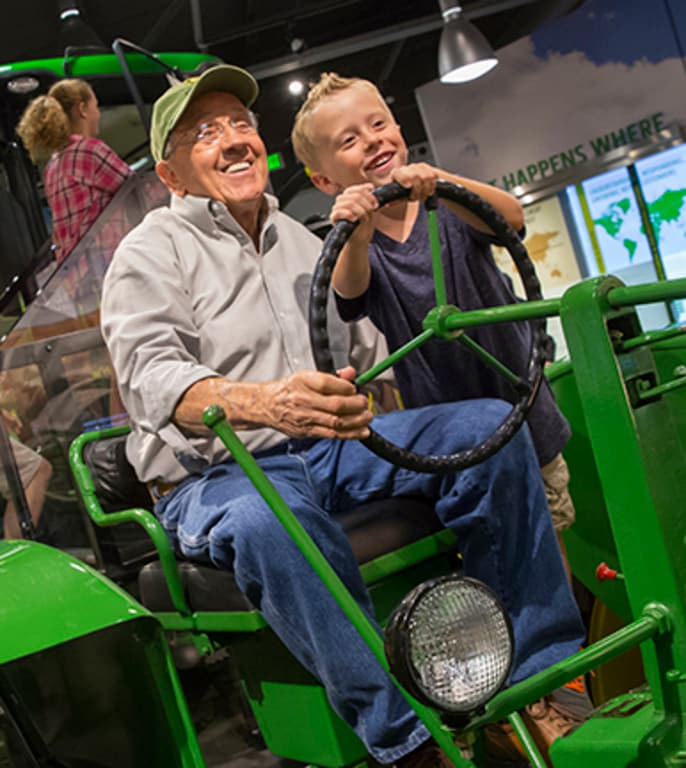 Learn more about the John Deere Tractor and Engine Museum