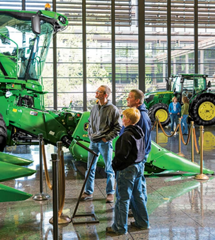 Discover more about our Deere & Company World Headquarters by clicking here