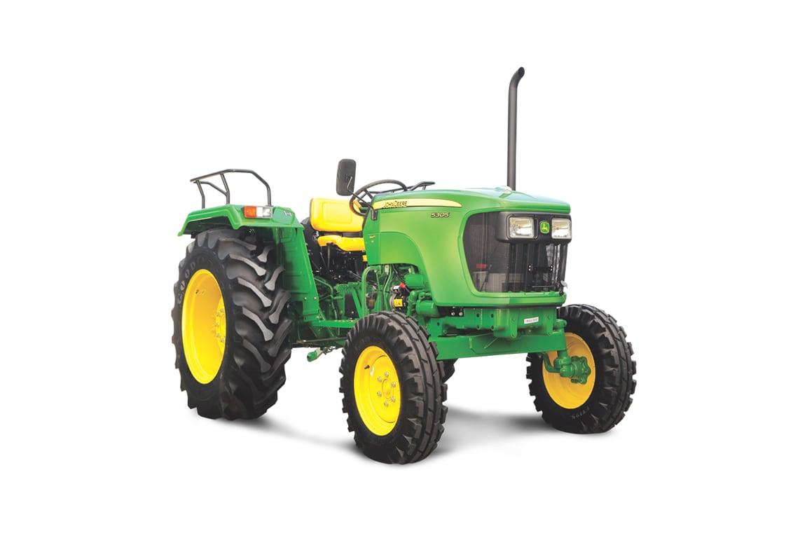 John Deere Tractor , 55 HP, Model 5305 , Right Profile