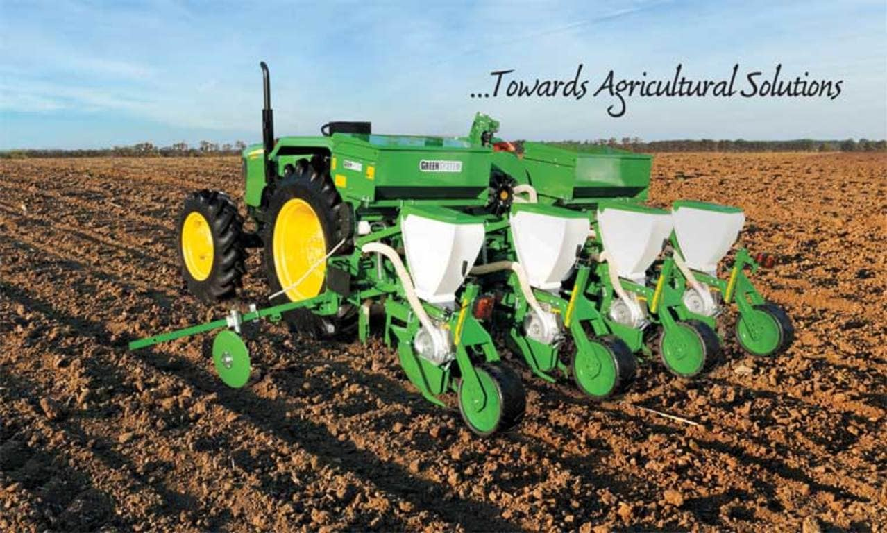John Deere Multi crop Vacuum Planter in field