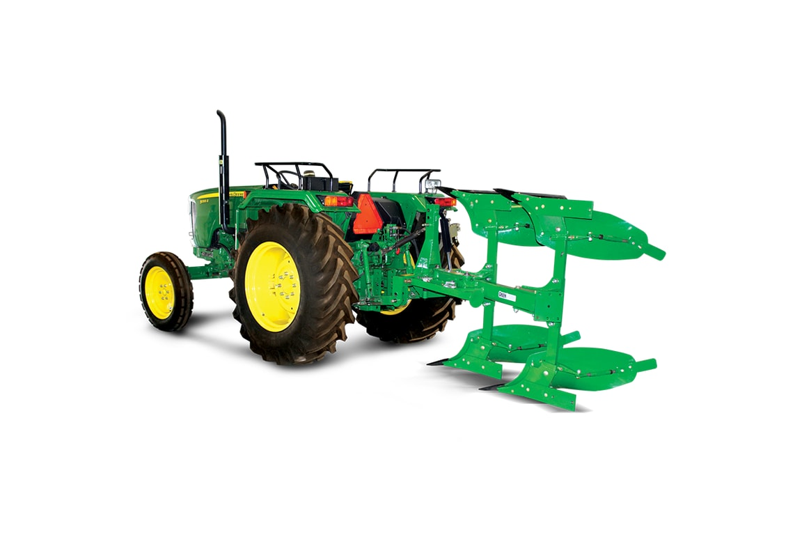 Efficient Green System Hydraulic Reversible MB Plough, right profile
