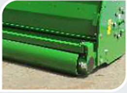 Adjustable Roller, Implement, GreenSystem Mulcher, Right Profile