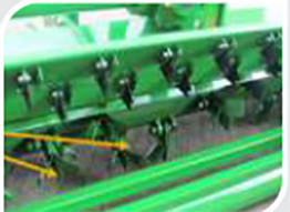 Rotor Mounted Blades, Implement, GreenSystem Mulcher, Right Profile