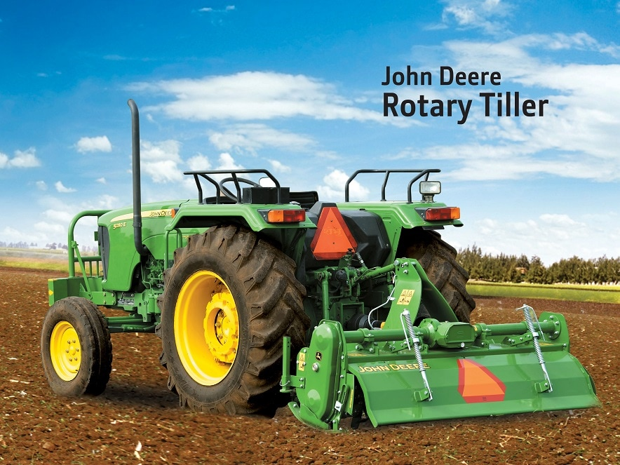 Learn more about John Deere Rotary Tiller