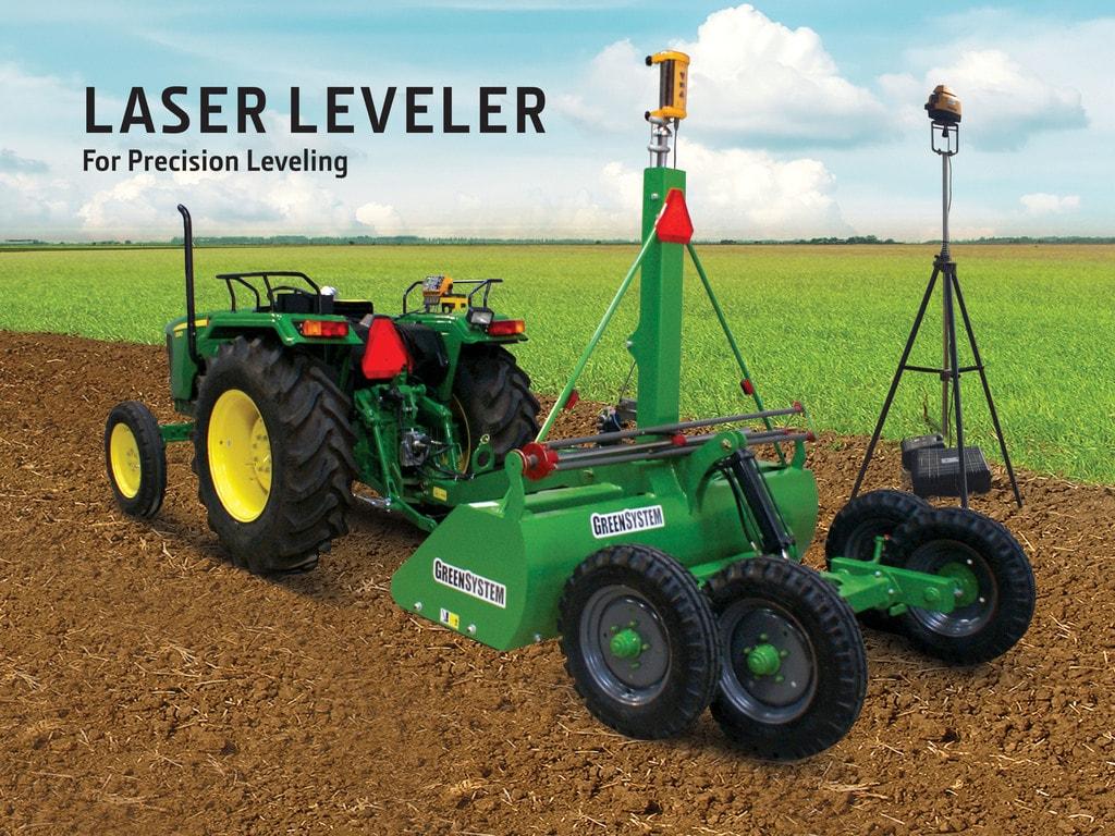 Green System Laser Leveler   Implements   John Deere IN