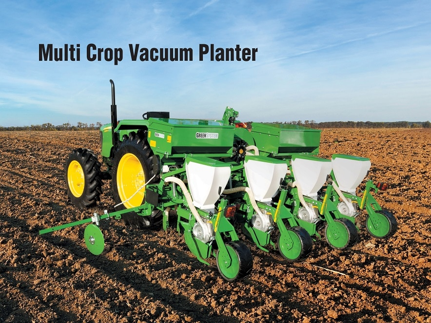 Learn more about Multi crop Vacuum Planter