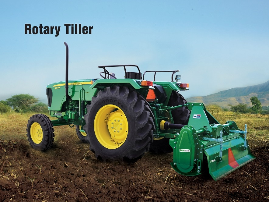 Learn more about Green System Rotary Tiller