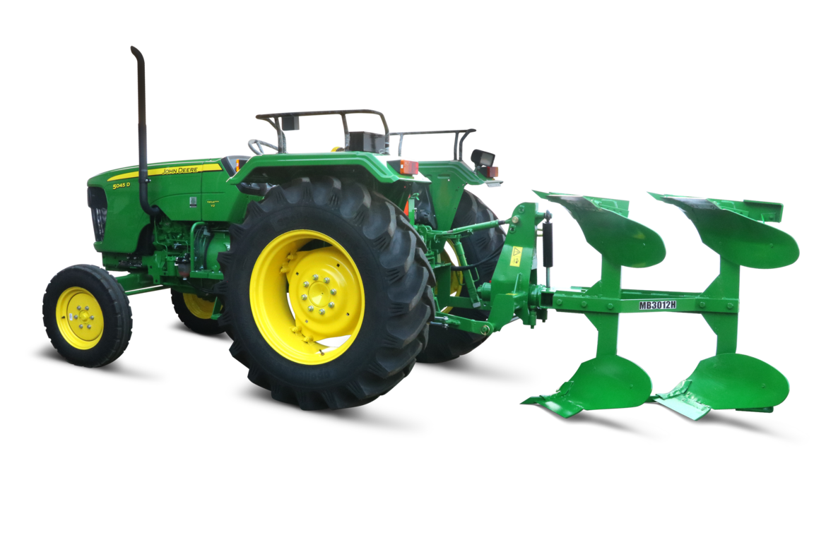 Heavy duty GreenSystem implemet, Deluxe MB plough, right profile