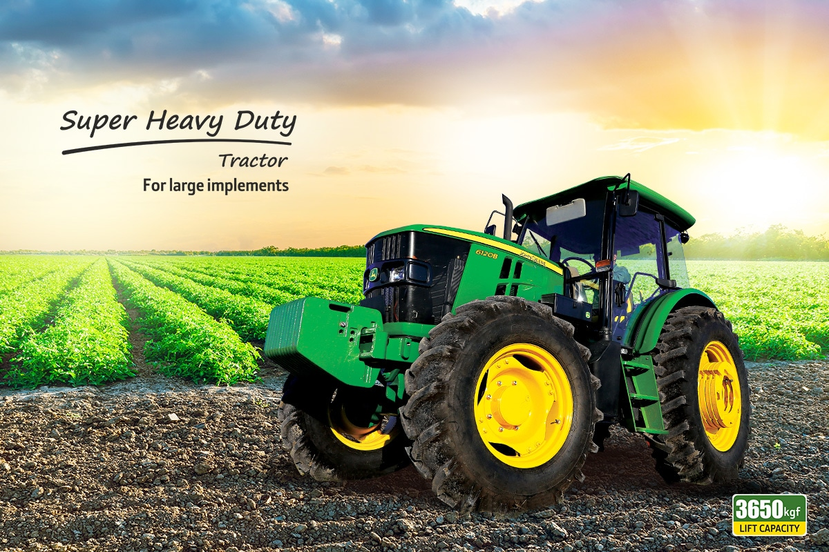 John Deere Tractor , Super Heavy Duty tractors, Left Profile
