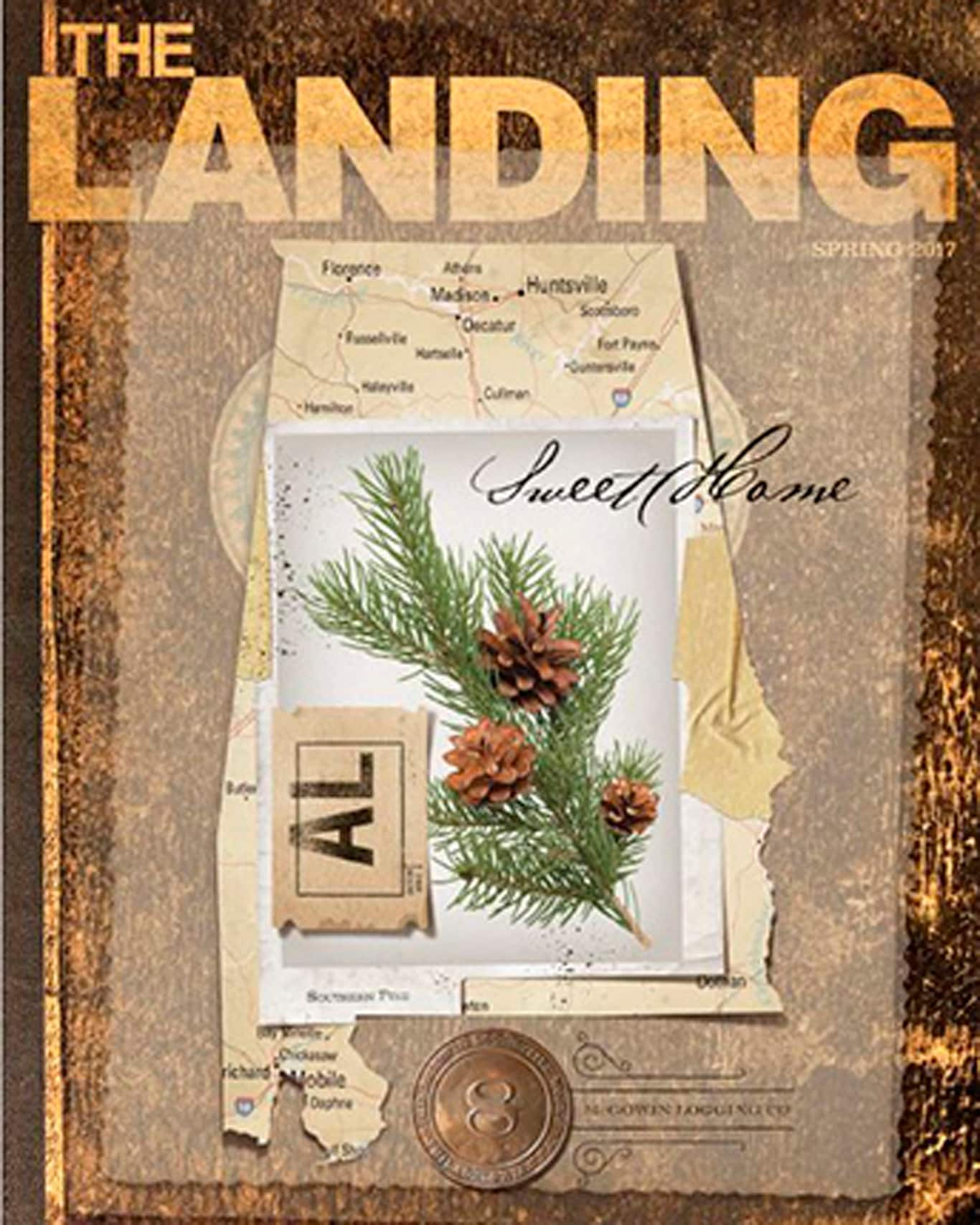 The Landing Cover