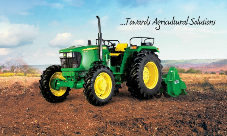 Learn more about 55 HP 4WD Tractor
