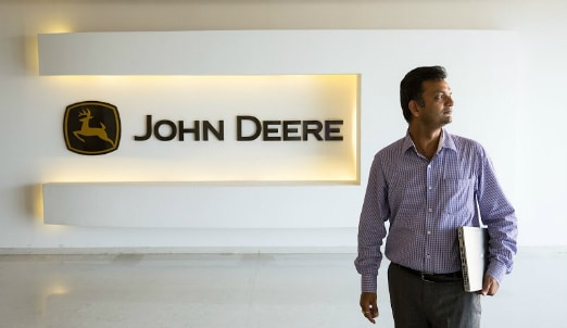 Working at John Deere