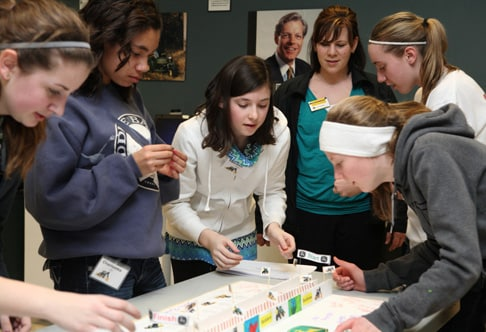 Dubuque Introduce A Girl to Engineering Day
