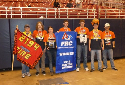 2012 FIRST Championship Semi-Finalists from Fond du Lac, Wisconsin
