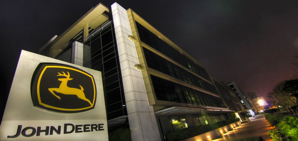 In just over a decade of existence, John Deere has established a pan-India presence.